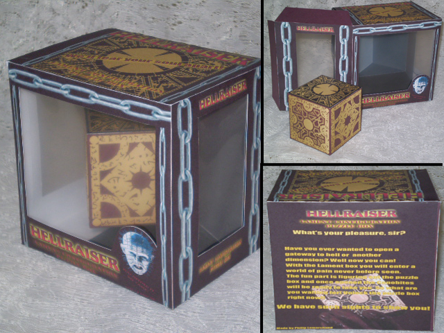 Hellraiser Puzzle Box Toy by evan3585