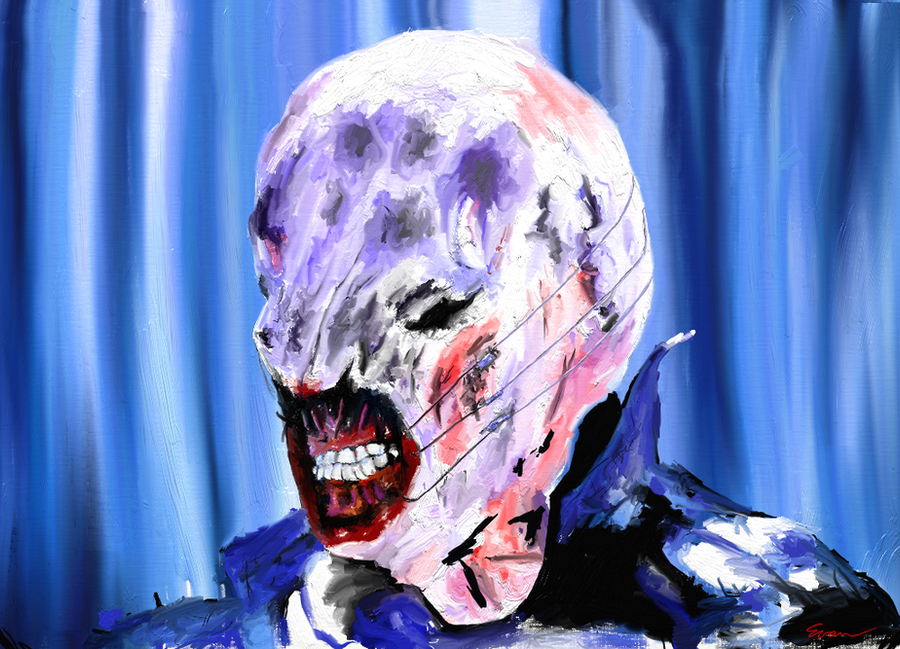 Hellraiser Chatterer Cenobite by evan3585