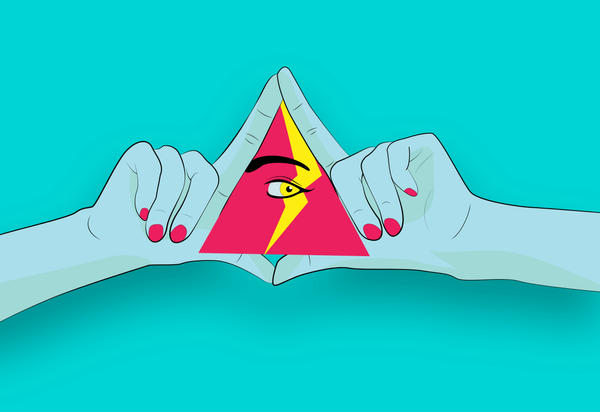 trIangle by blacklacefigure