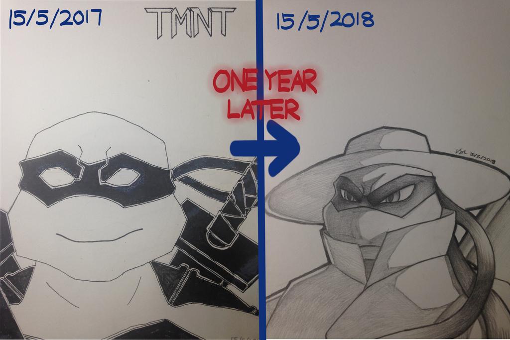 TMNT Evolution of Pirandello [Draw It Again] by L4Dragon