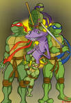 [Request] The Turtles and The Lizard by L4Dragon