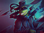 [TMNT OC] Knife Rain by L4Dragon