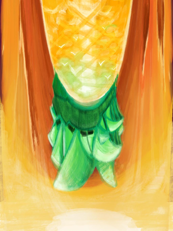 pineapple from sydney by kobunketsu