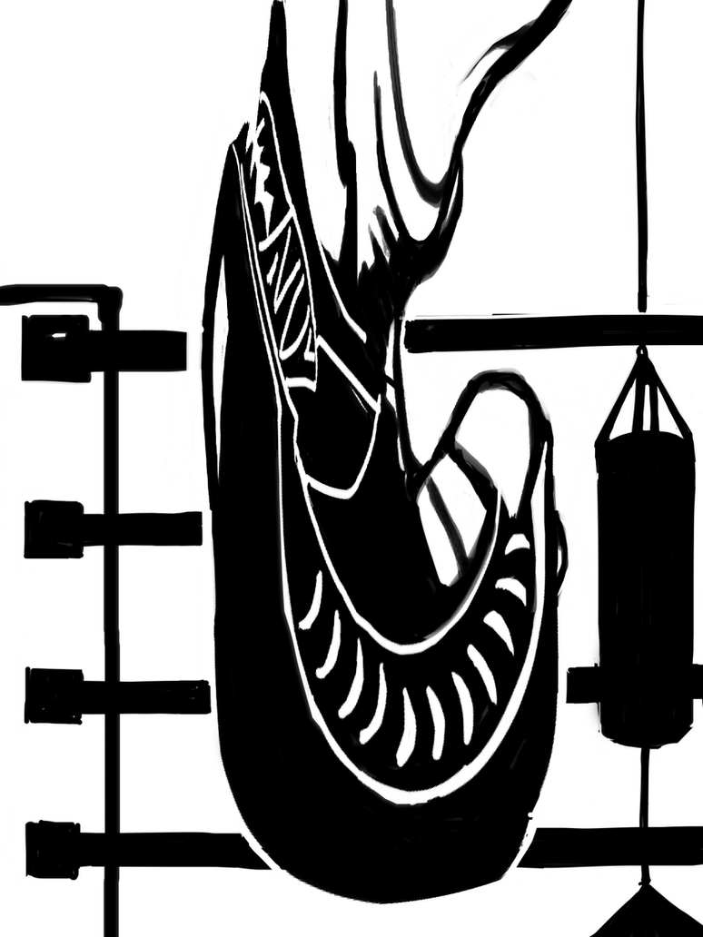 boxing-glove-alien by kobunketsu