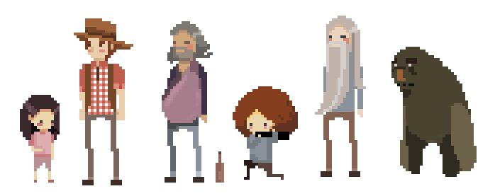 game characters by teolanna