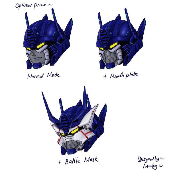 optimus prime head redesign by micky86 on DeviantArt  optimus prime h...