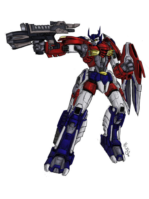 optimus prime redesign 4.2 by micky86