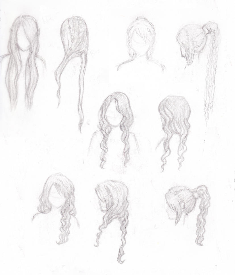 Oc Hairstyles By Leesa Mia On Deviantart