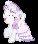 Sweetie Belle in a Dress