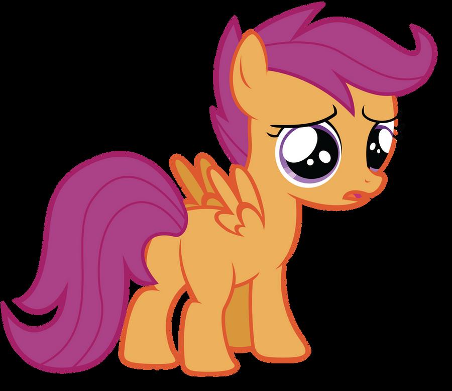 You Make Scootaloo Sad by RainbowDerp98