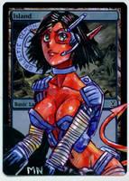 Island - Galactic Demon League by seesic