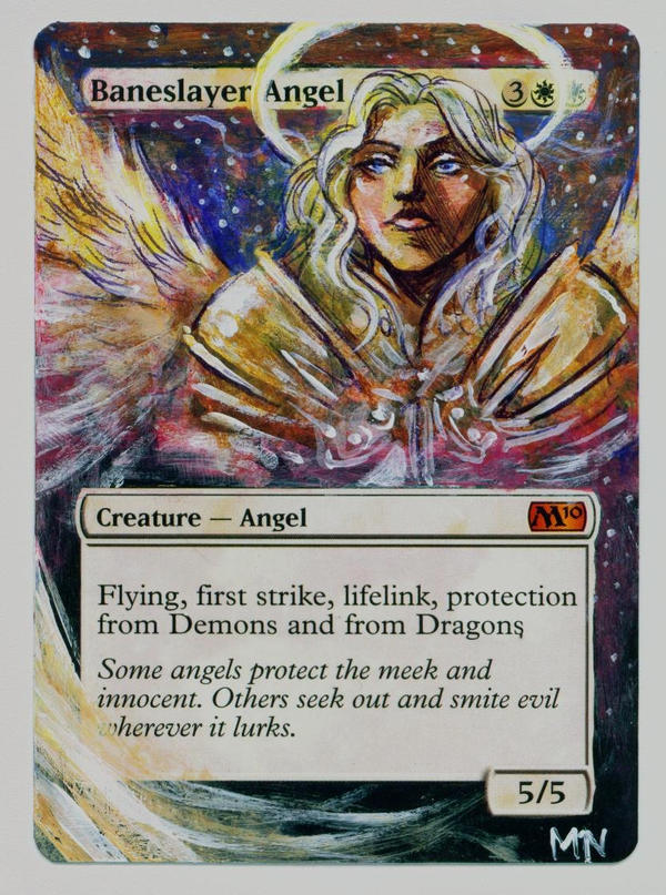 Baneslayer angel wallpaper