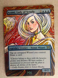 Azami, Lady of Scrolls by seesic