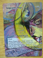 Snapcaster Mage by seesic