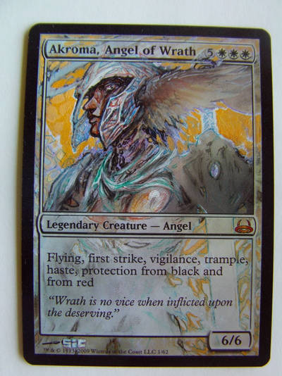 Akroma, Angel of Wrath - Foil by seesic