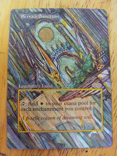 Serra's Sanctum - Dawn by seesic
