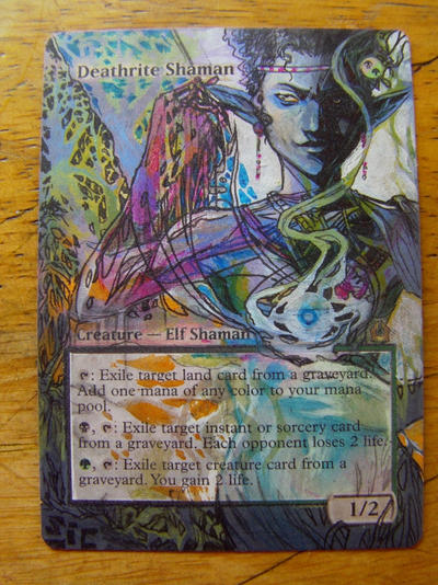 Deathrite Shaman 3/4 by seesic