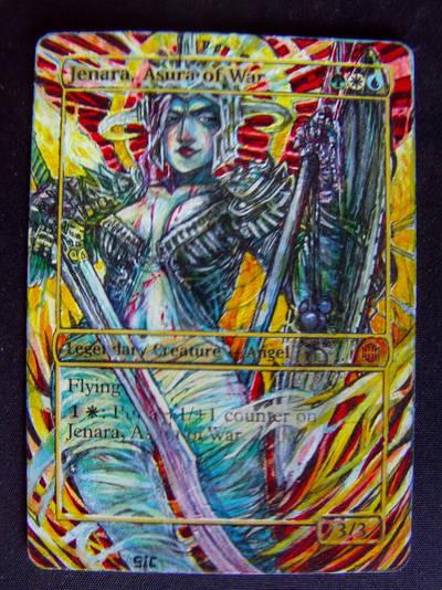 Jenara, Asura of War MK. II by seesic