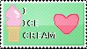 I love Ice Cream stamp by TheBaileyMonster