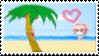 Beach Stamp by TheBaileyMonster