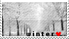 winter Stamp by TheBaileyMonster