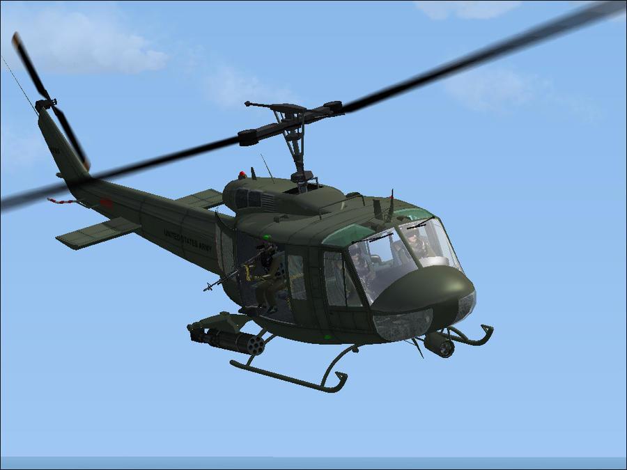 UH-1H by m60hog