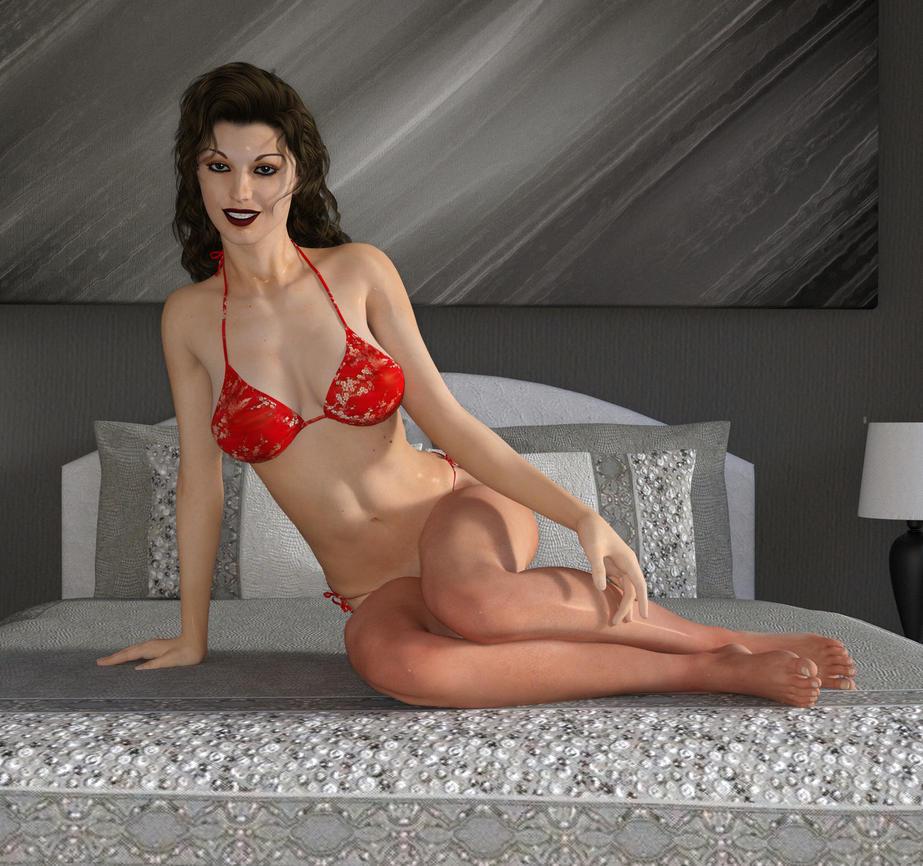 Juliette bikini2 by m60hog