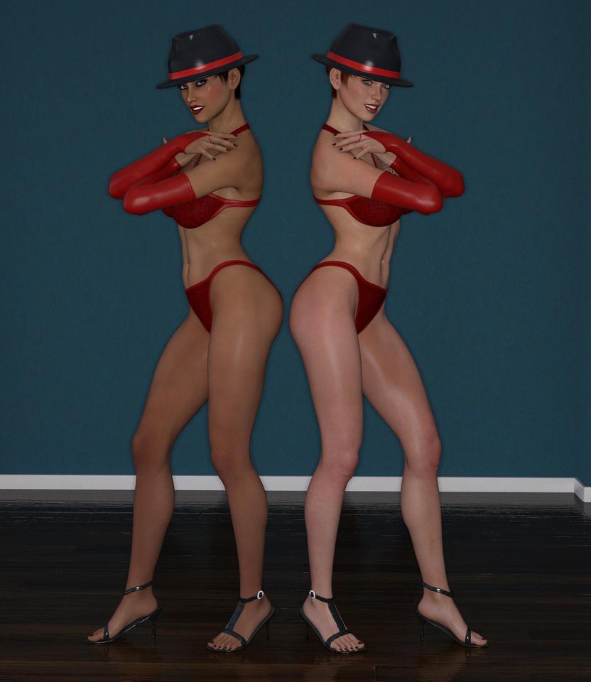 Two dolls by m60hog