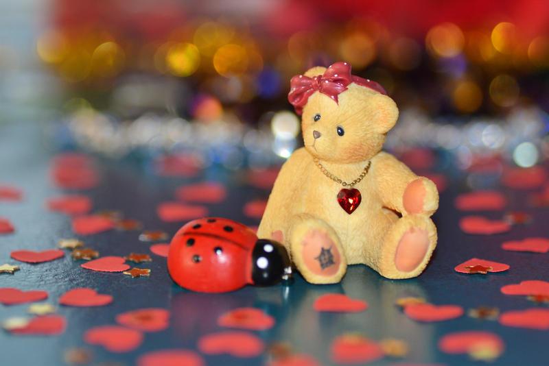 Valentine Teddy by MayEbony