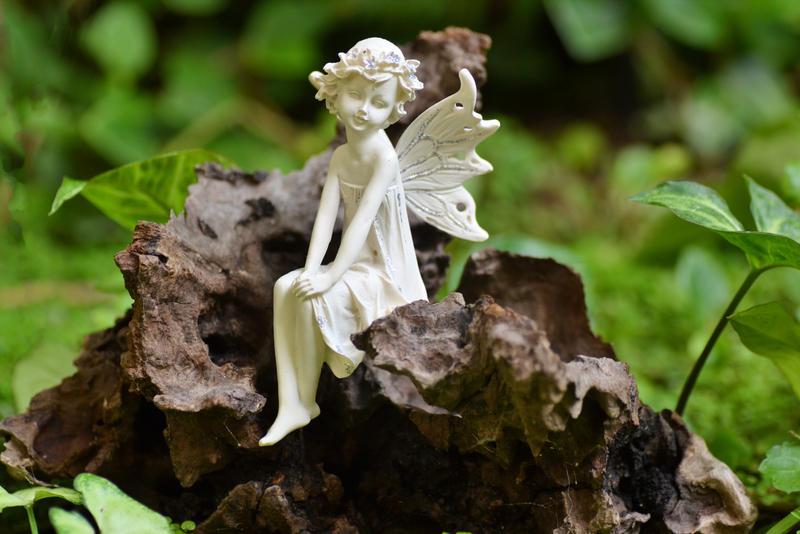 Fairy in the Garden by MayEbony