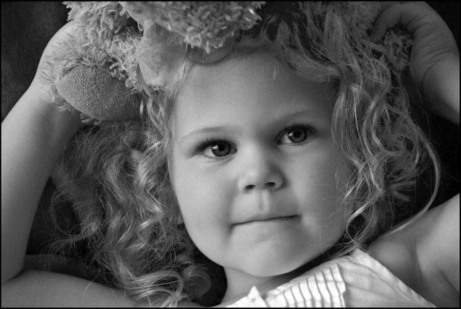 Little Miss Four by MayEbony