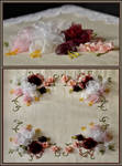 Silk Ribbon Rose Embroidery