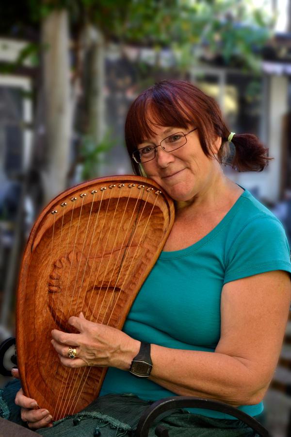 Dream Harp Finished by MayEbony