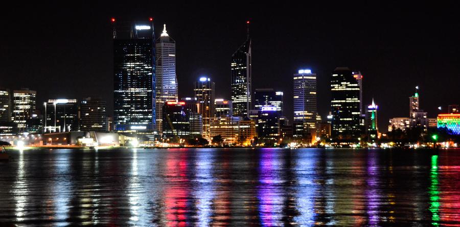 Perth by Night II by MayEbony