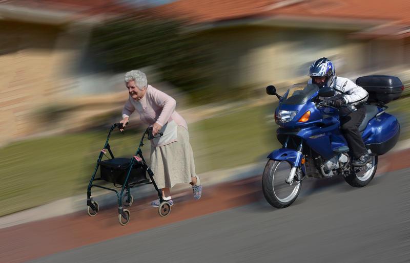 Go Granny! by MayEbony