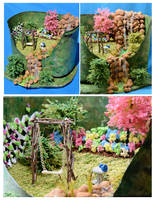 My Miniature Garden - WAMA Beginners 1st Prize by MayEbony