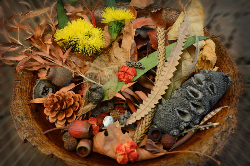 Autumn Basket by MayEbony
