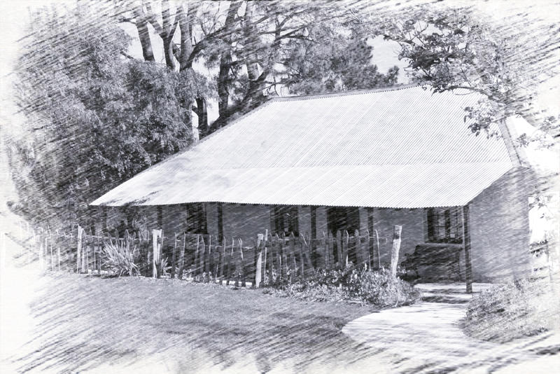 Cockman House 'Pencil Drawing Effect' by MayEbony