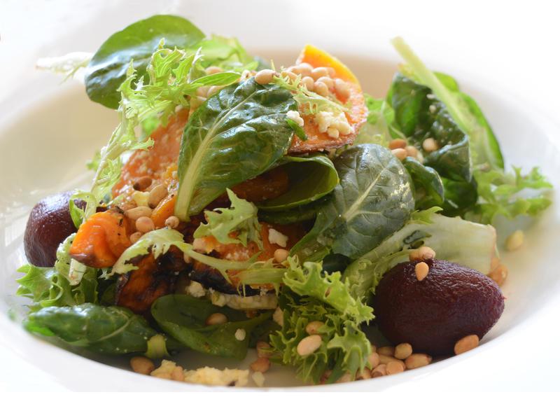 Beet, Pumpkin and Pinenut Salad by MayEbony