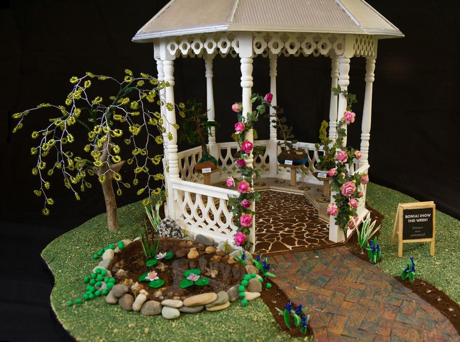 WIP Gazebo and Garden V2 by MayEbony