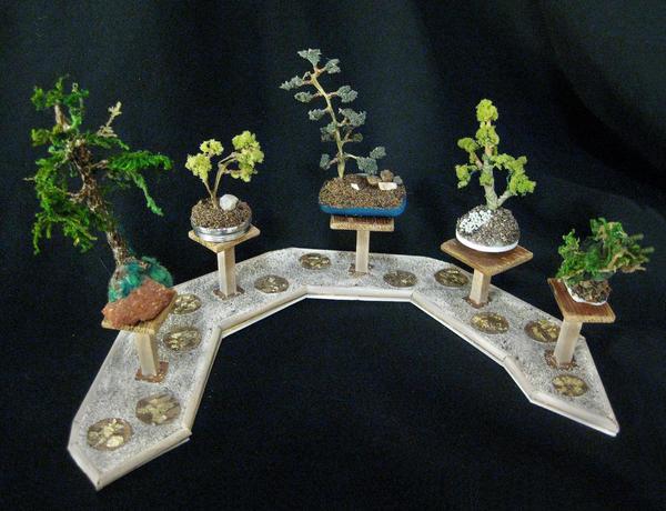 Miniature Bonsai Trees by MayEbony