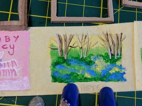 Miniature Landscape Bluebell Woods