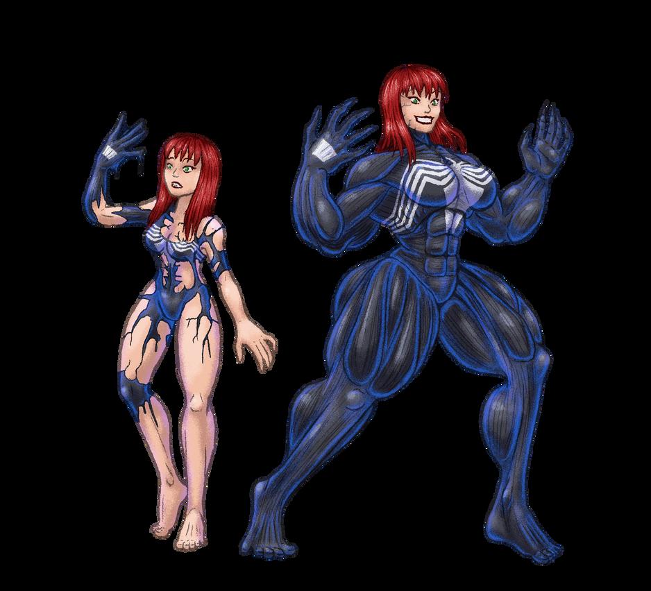 Commission: She-Venom MJ By Node-Gamer On DeviantArt