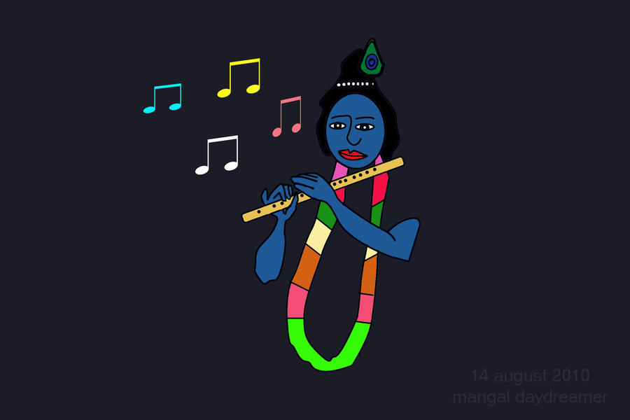 Pictures of Krishna Flute Krishna 39 s Flute by Sumangal16