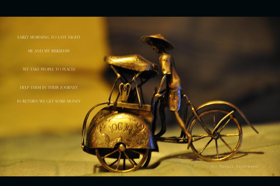 RiKshaw Puller by sumangal16