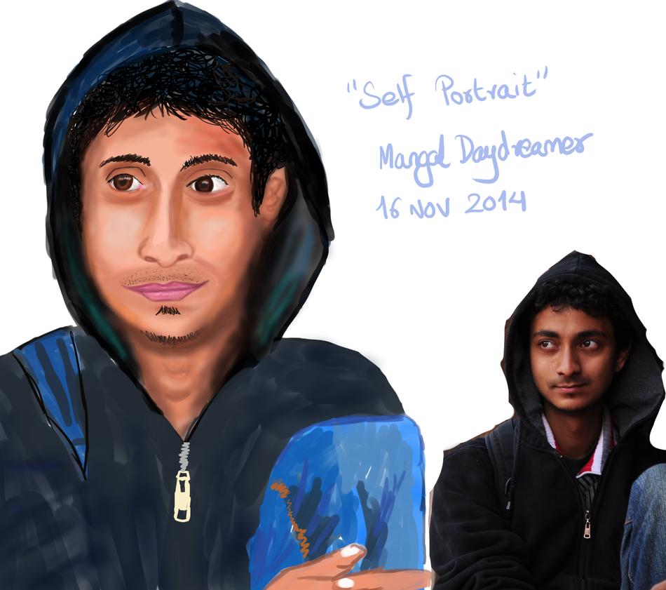 self portrait by sumangal16