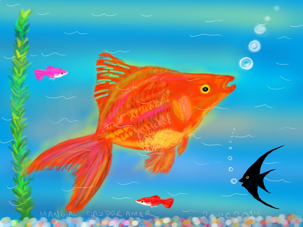 aquatic by sumangal16