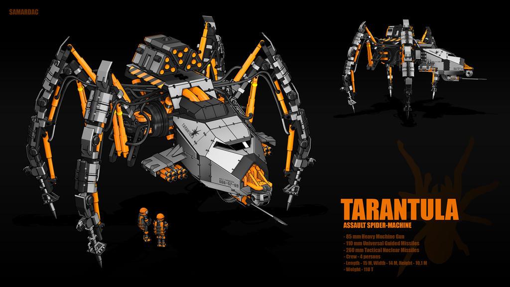 Tarantula by samardac