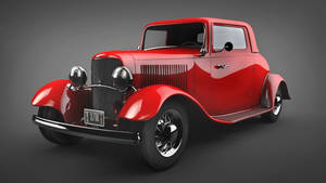 Ford Coupe 1932 by samardac