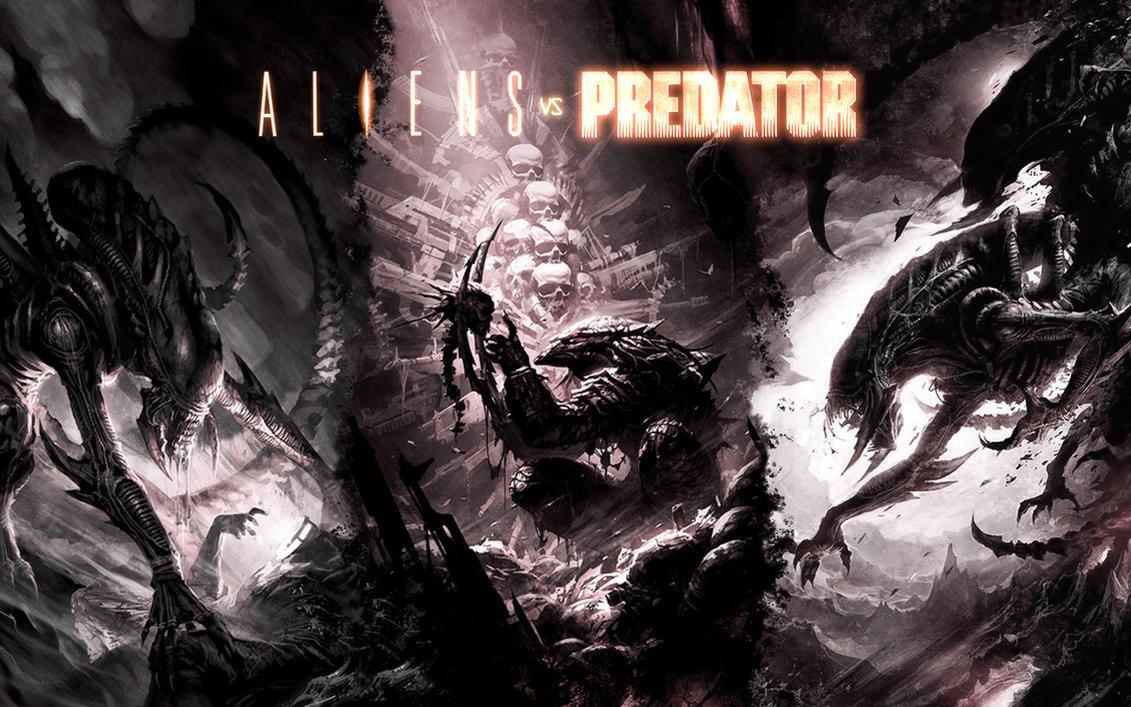 alien vs. predatorfrancoferrari on deviantart